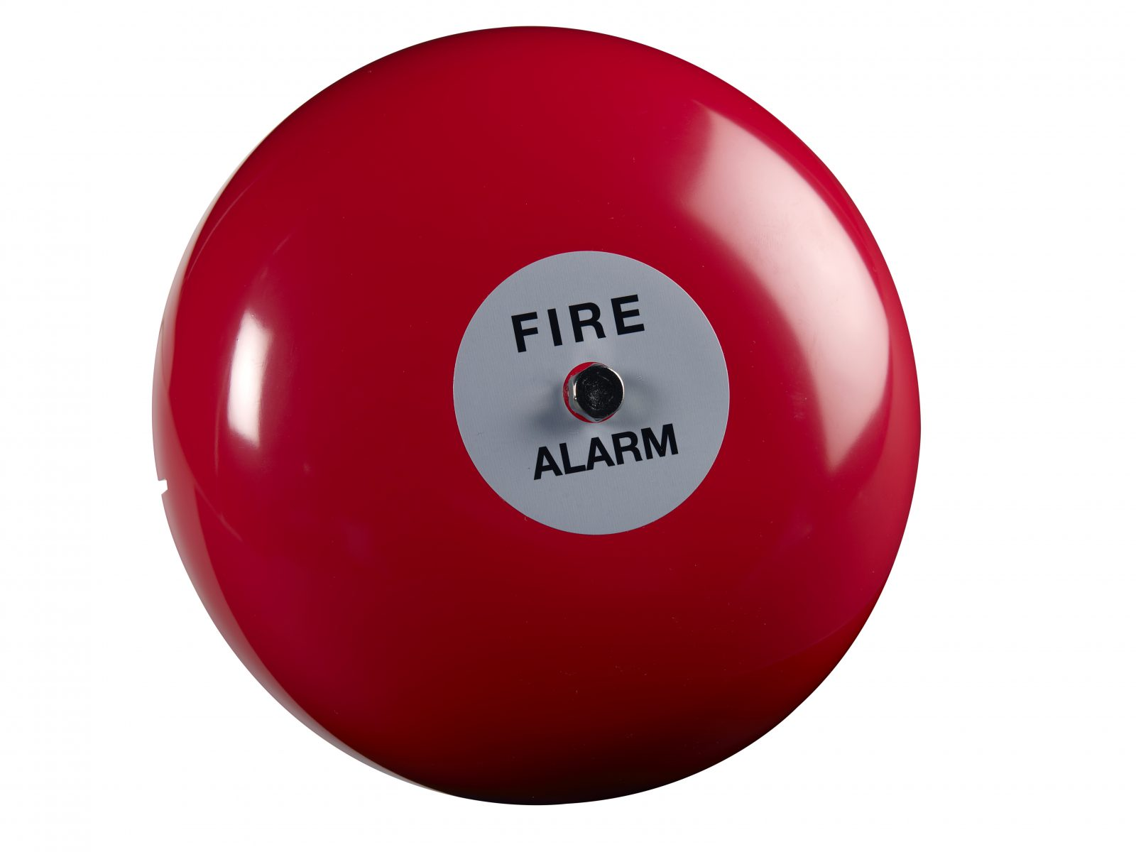 FireClass 24V Conventional 8 Electronic Motorised Outdoor Weatherproof Sounder Fire Alarm Bell Red IP65 2601016